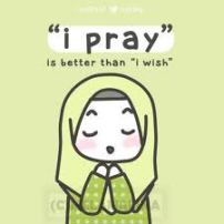 """I pray"" is better than ""I wish"""